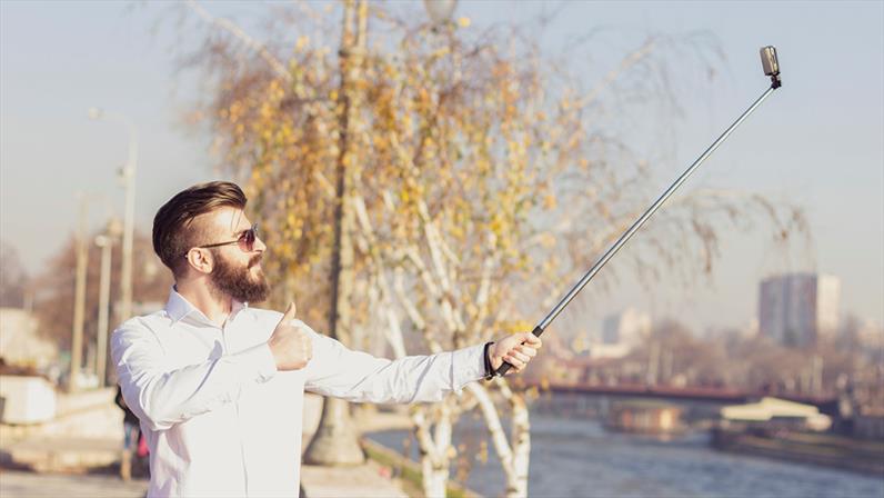 Tu palo selfie te ayuda a buscar el encuadre perfecto