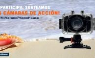 Participa en #MiVeranoPhoneHouse, ¡sorteamos 5 cámaras de acción!