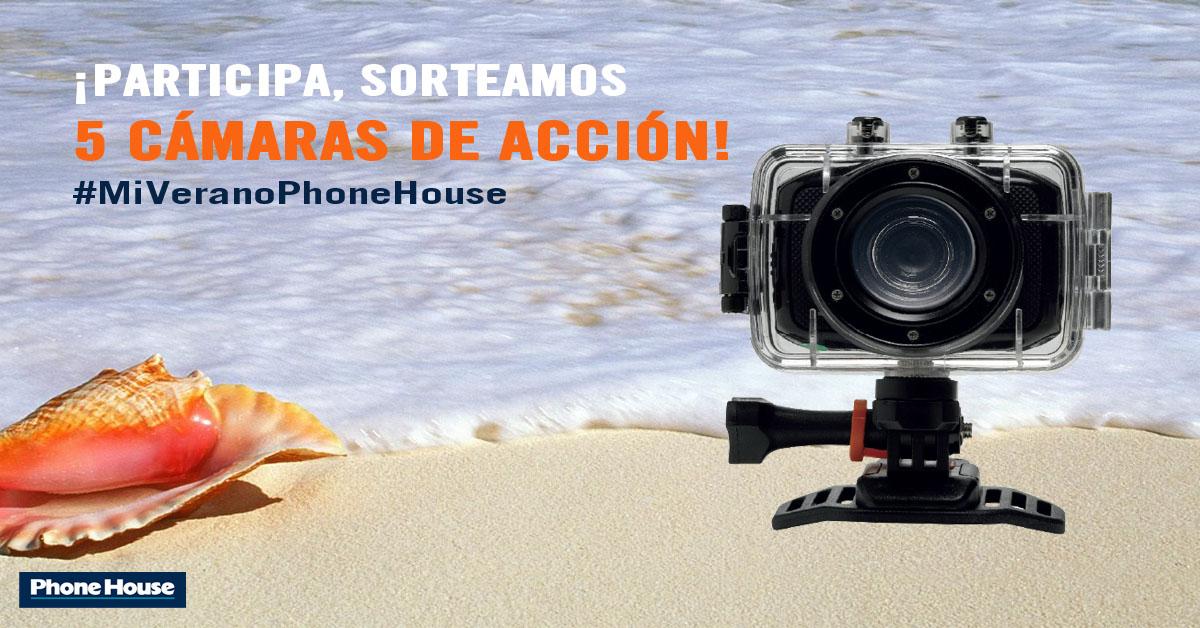 Sorteo #MiVeranoPhoneHouse