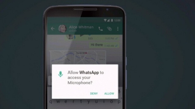 Android Marshmallow app permissions