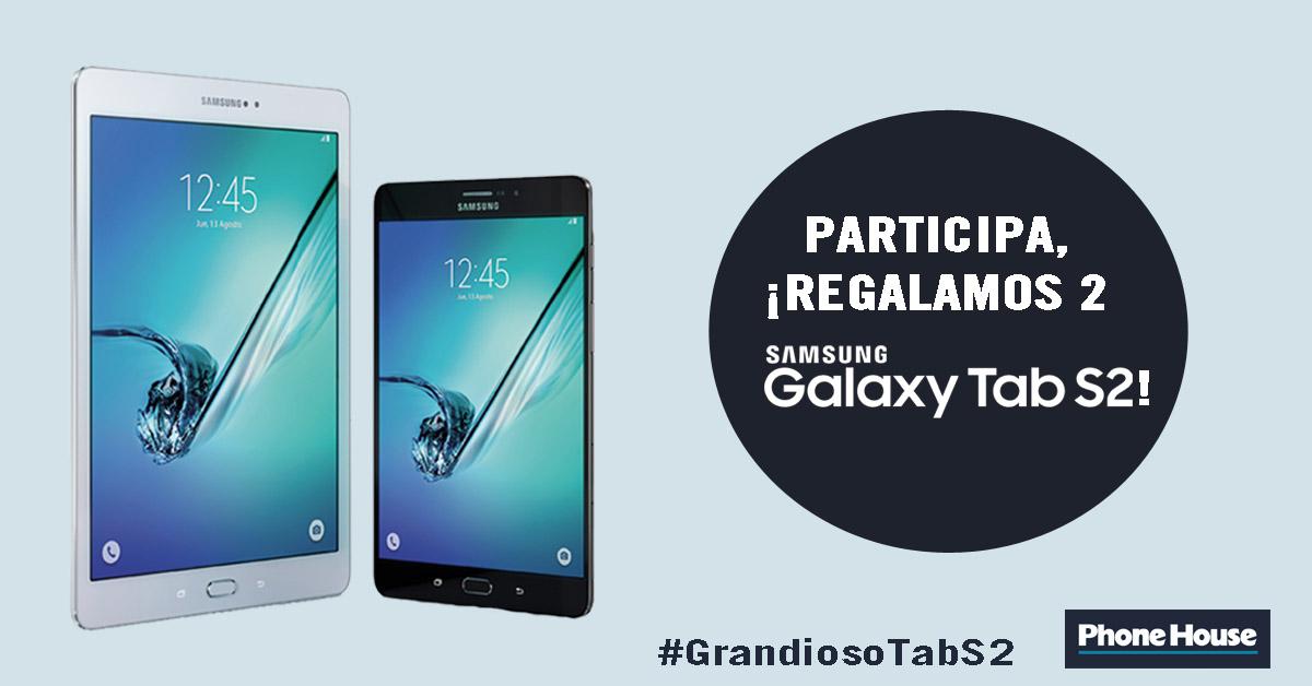 Nuevo Samsung Galaxy Tab S2 en Phone House