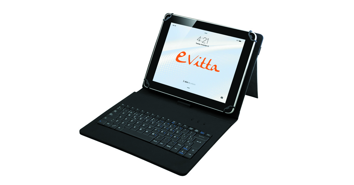 Funda + teclado tablet
