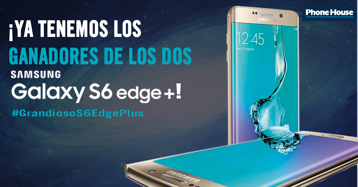 Ganadores Samsung galaxy edge plus