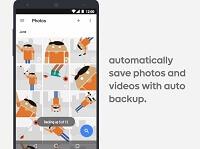 Google Photos auto backup