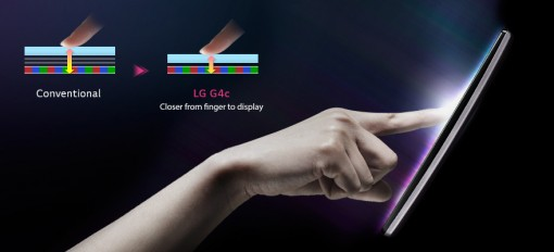 LG in cell touch