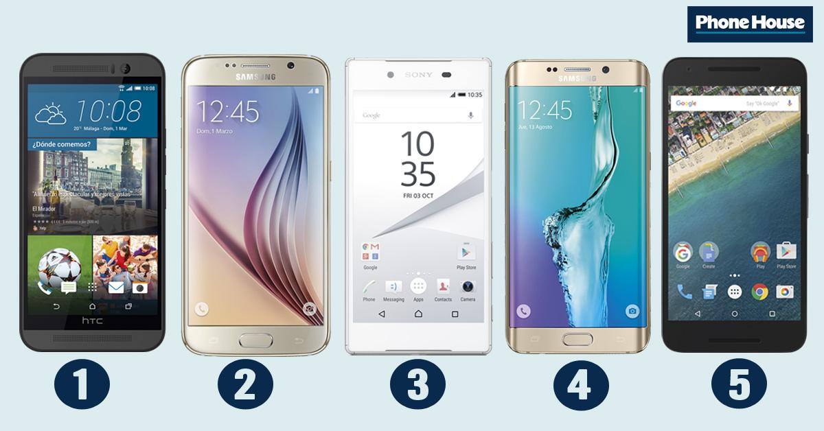 Comparamos 5 Smartphones Con Cámaras De Más De 13 Mpx Blog Oficial Phone House