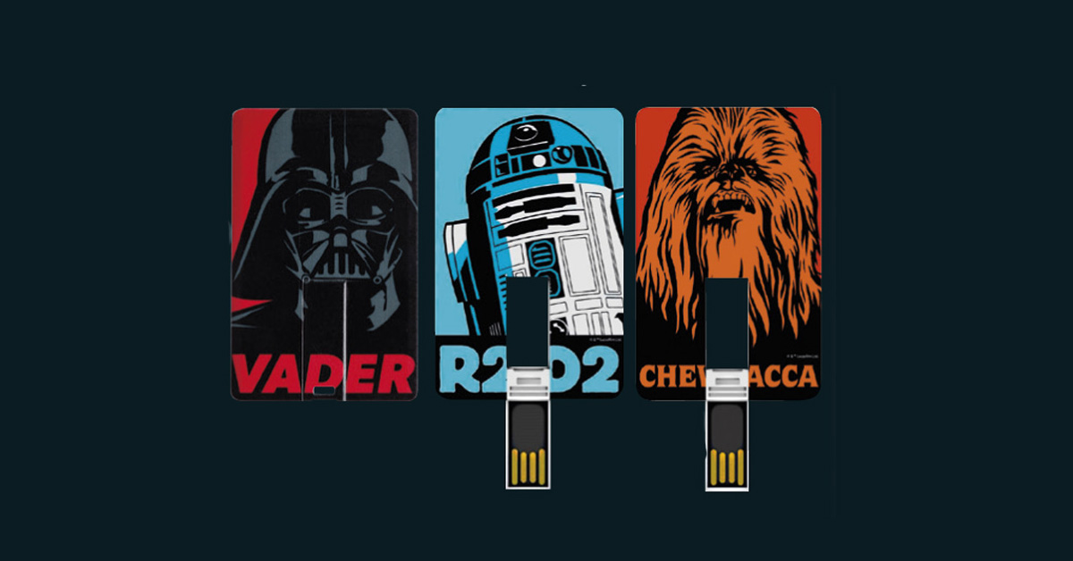 usb cards star wars