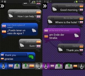 Traductor para conversaciones