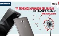 ¡Ya sabemos el ganador del Huawei Mate 8 del sorteo #HuaweiLovers!