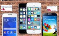 ¡Ofertas un 29 de febrero solo pasan cada 4 años! Descuentos especiales en smartphones Outlet