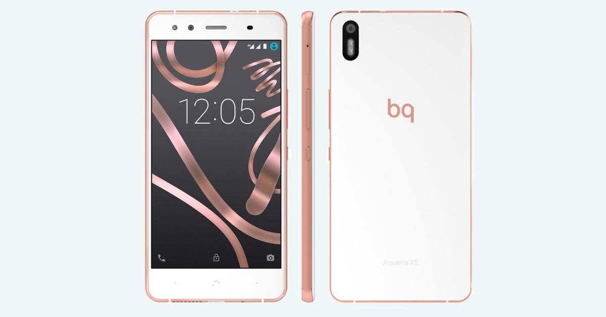 BQ x5 rosa