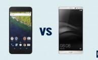 Comparativa Nexus 6P vs Huawei Mate 8