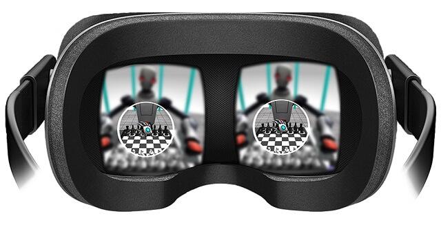 virtual reality eye tracking
