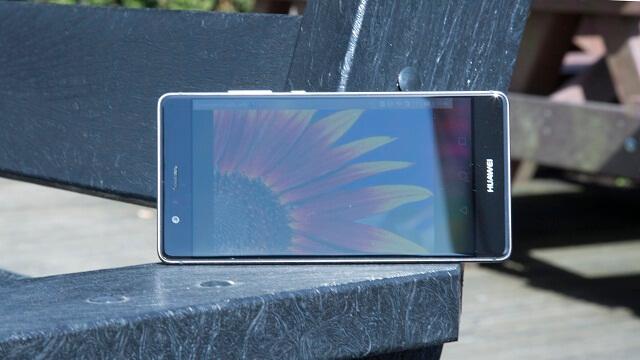 Huawei P9 outdoor screen