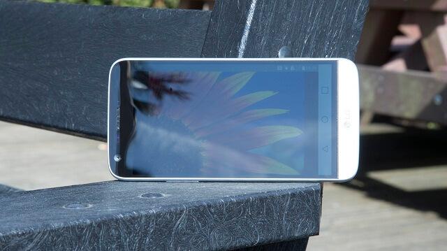 LG G5 outdoor screen