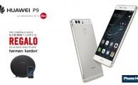 ¡Haz la pre-compra del nuevo Huawei P9 y llévate un Altavoz Harman / Kardon ONYX Studio de regalo!