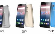 Nuevos smartphones Alcatel: Pop 4, Pop 4 Plus y Pop 4S