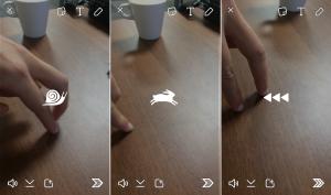 filtros de video para Snapchat