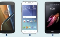 Comparamos el Moto G4 VS Samsung J5 2016 VS LG X Screen
