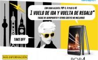 Compra un Alcatel Pop 4 antes del 24 de julio y vuela gratis a Europa