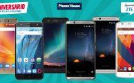 Ofertas especiales de Aniversario en smartphones ZTE