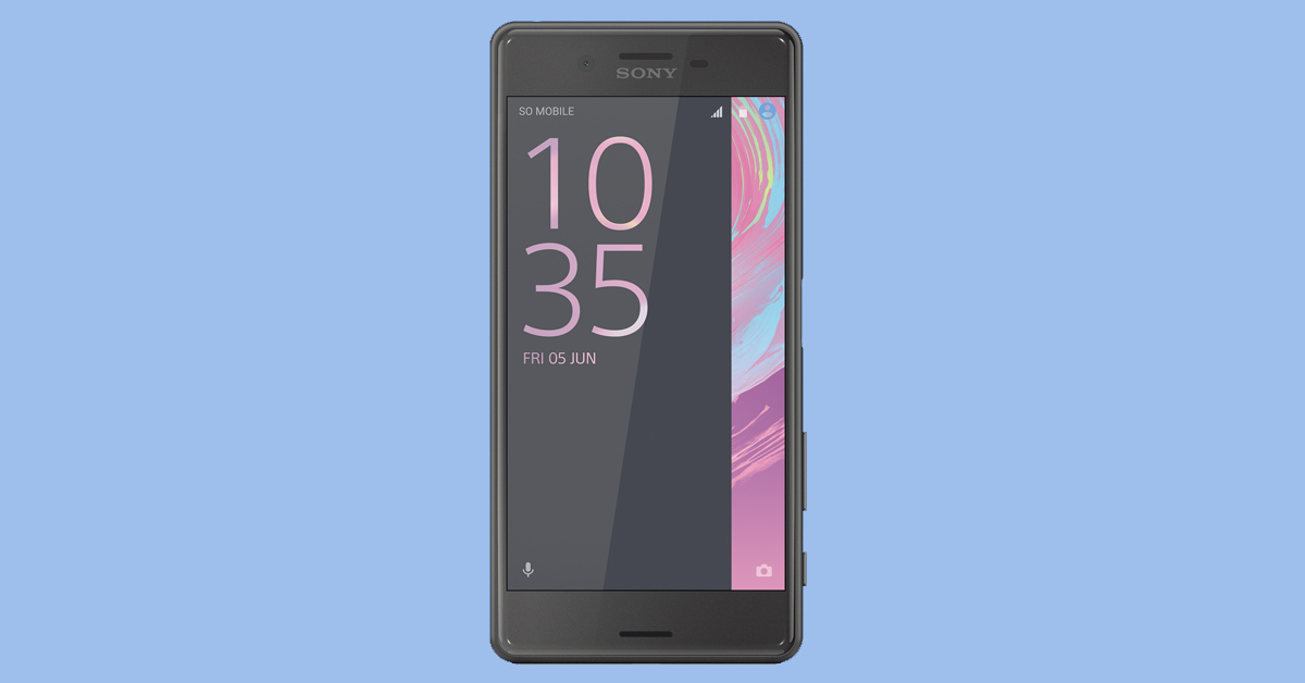 sony xperia x performace