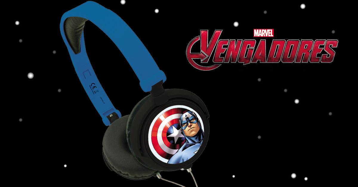 auriculares capitan america