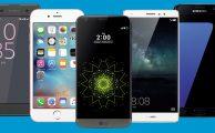Los 5 mejores smartphones puestos a nuevo