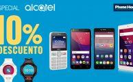 Solo hasta el 19 de febrero 10% de descuento en dispositivos Alcatel