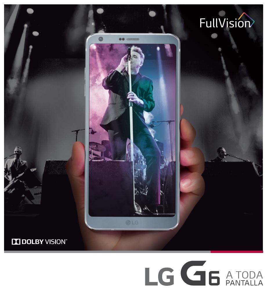 LG G6 - concierto loquillo