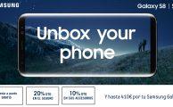 Precompra tu Samsung Galaxy S8 y S8+ con descuento en accesorios, seguro ¡y puesta a punto gratis!