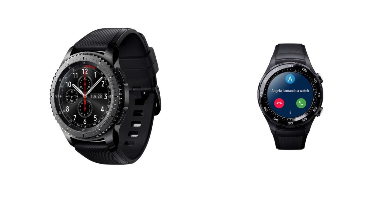 Comparativa: Samsung Gear S3 VS Huawei Watch 2