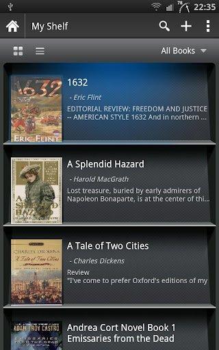 moon+ reader app ebooks