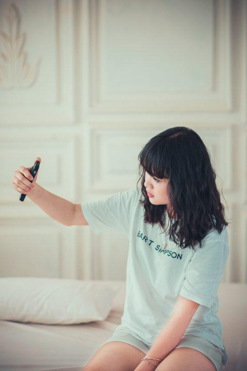 selfie chica