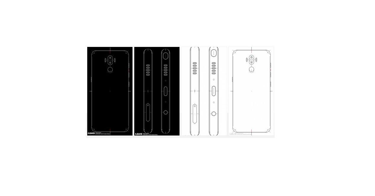 Los planos del Samsung Galaxy Note 8 muestran una doble cámara