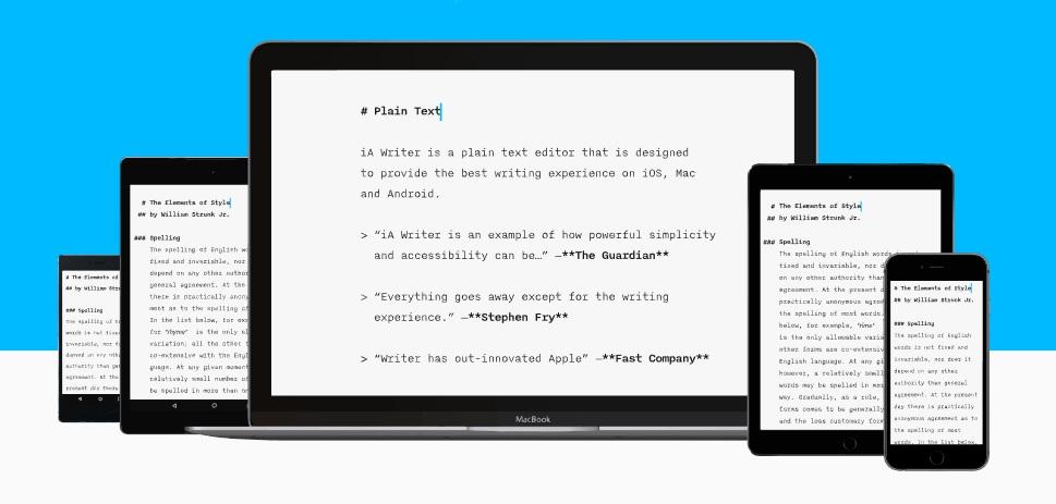 Tres aplicaciones para escribir textos en tu smartphone