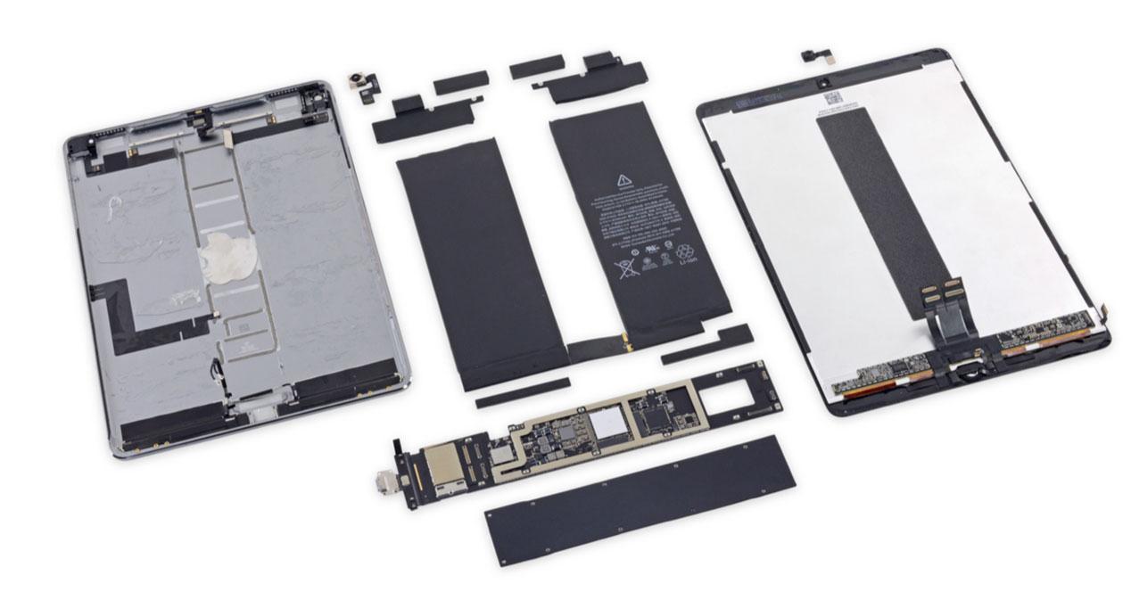 Así es el nuevo iPad Pro por dentro