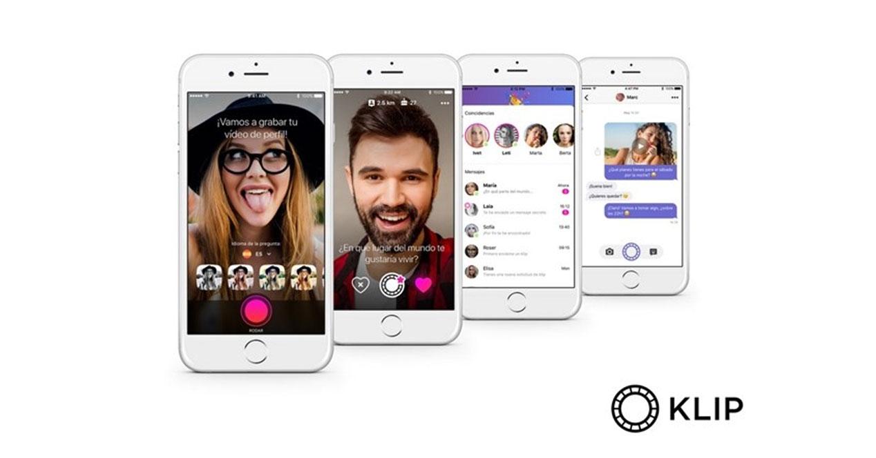 Klip, la nueva app que llega a España para rivalizar con Tinder