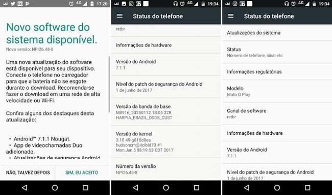 Moto G4 Play arranca su actualización a Android 7.1.1