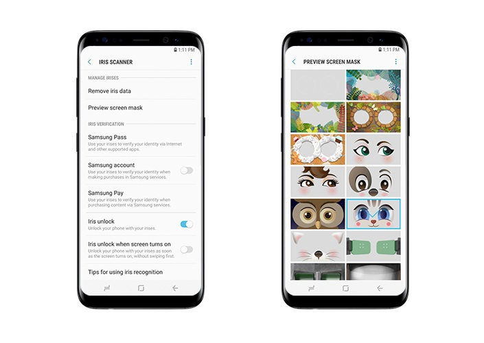 Samsung comparte una serie de trucos para el Samsung Galaxy S8