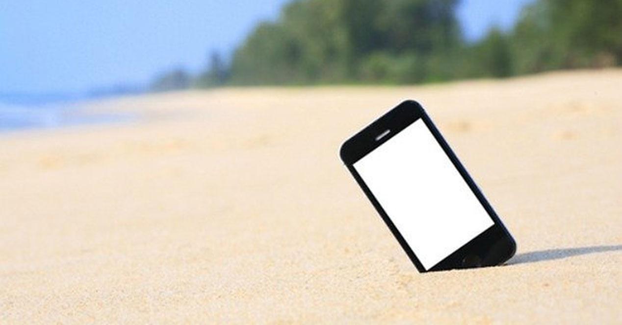 smartphone-playa-consejos-vacaciones