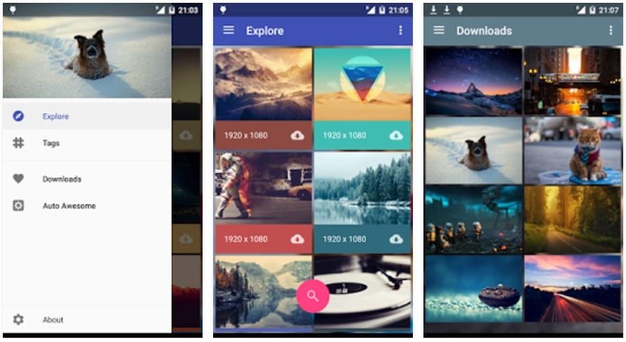 Las mejores aplicaciones para fondos de pantalla en Android