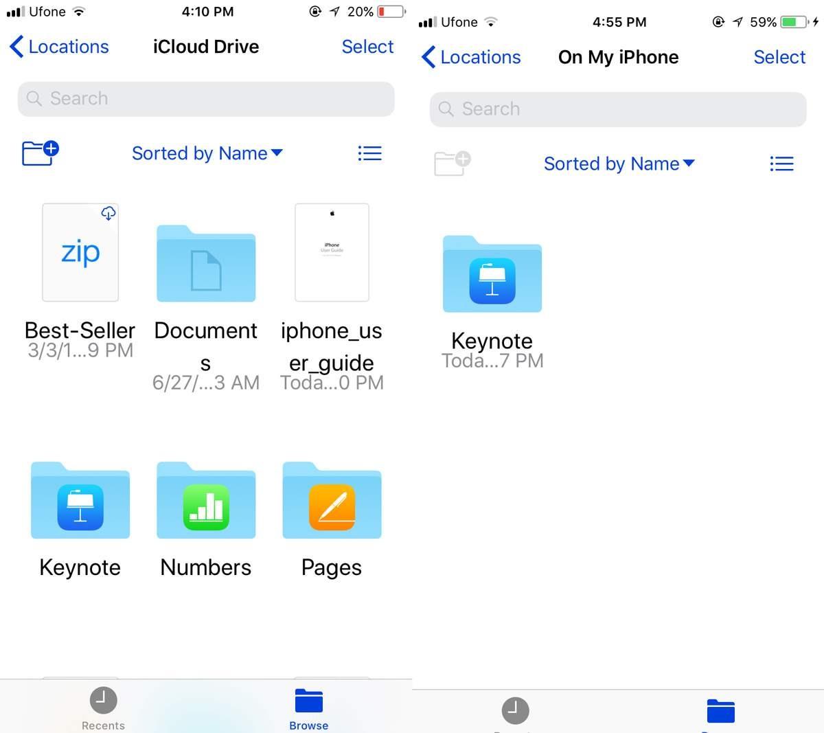 app files ios 11