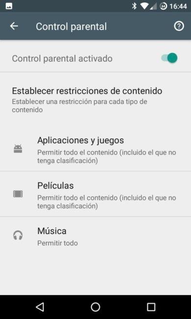 ¿Cómo se activa el control parental en Google Play para los pequeños?