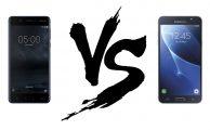 Comparativa: Nokia 5 VS Samsung Galaxy J7 2016
