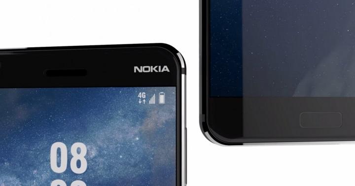 Nokia 8, sin biseles y con un escáner de iris