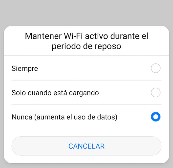 reposo wifi