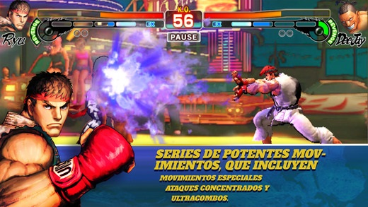 Street Fighter IV: Champion Edition llega por fin a terminales iOS