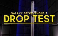 test de caida iphone 7 y samsung galaxy s8