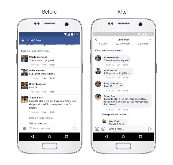 Facebook se actualiza con nuevo diseño más simple y directo